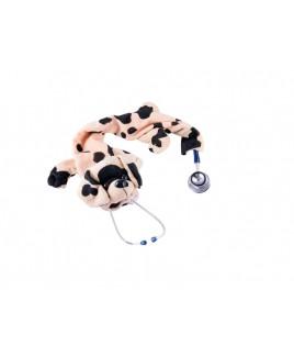 Stethoskop Cover Hund Braun