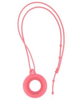 Silikon Schlüsselband Rosa