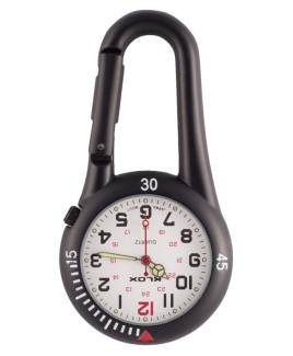 Karabiner Uhr NOC450 Weiß