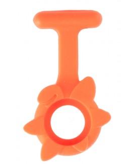 Silikongehäuse Frühlingsblume Orange