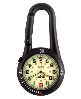 Karabiner Uhr NOC450 Luminös
